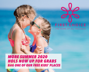 First Choice Summer 2020 Free Child Places