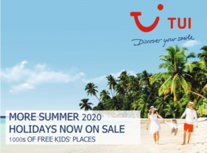 TUI Free Kids Summer 2020