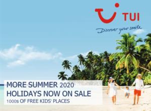 TUI Free Kids Summer 2020