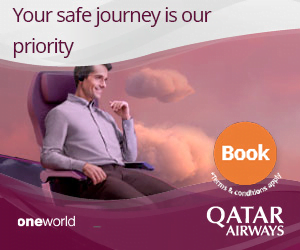 Qatar Airways Book WIth Confidence